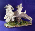 Eve Pearce Hand-Made Model - Chinese Cresteds Running * SALE *